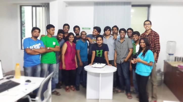 Last day, with the team! :)